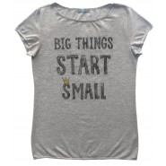 BIG THINGS START SMALL